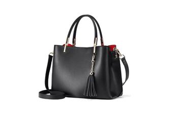 Womens Handbags Shoulder Bag Ladies Satchel Messenger Tote Bag Black