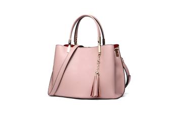 Tassel Inclined Shoulder Bag Purses Cross Body Handbags Trendy Bags For Women Pink