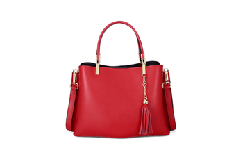 Tassel Inclined Shoulder Bag Purses Cross Body Handbags Trendy Bags For Women Red