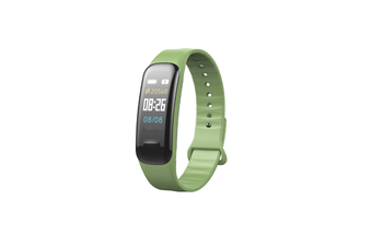 Smart Bracelet Waterproof Blood Pressure Heart Rate Monitor Smart Wrist Green