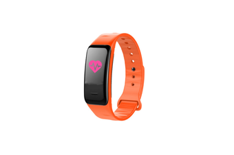 Smart Bracelet Waterproof Blood Pressure Heart Rate Monitor Smart Wrist Orange
