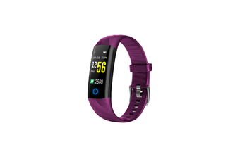 Bluetooth Smart Watch With Heart Rate Monitor,Fitness Tracker Purple