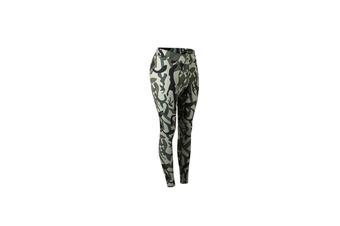 Camouflage Leggings For Women Compression Sport Leggings Yoga Leggings - Green Green XL