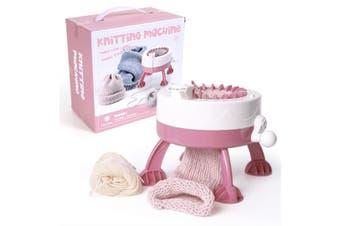 WJS Simulation Manual DIY Creation Knitting Machine 22 Needle Star Cylinder Wool Knitting Machine-689B-1#