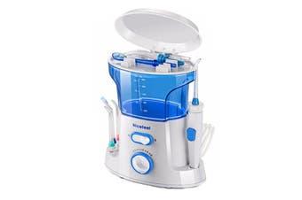 Electric Water Pick Dental Flosser Oral Irrigator Teeth Tooth Cleaning Water Flosser Teeth Cleaner Dental Electric Oral Irrigator with Jet Tips