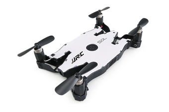 WJS Remote Control Automatic Folding Aircraft WiFi Map Transmission 2 Million HD Camera Fixed High Altitude Model-White