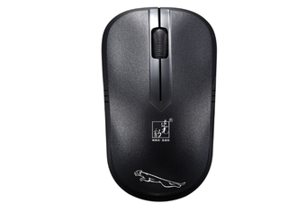 2.4G Hz Wireless Mouse Mini Wireless Mouse USB Notebook Computer Wireless Small Mouse Gaming Mouse-Black