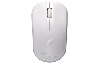 2.4G Hz Wireless Mouse Mini Wireless Mouse USB Notebook Computer Wireless Small Mouse Gaming Mouse-White