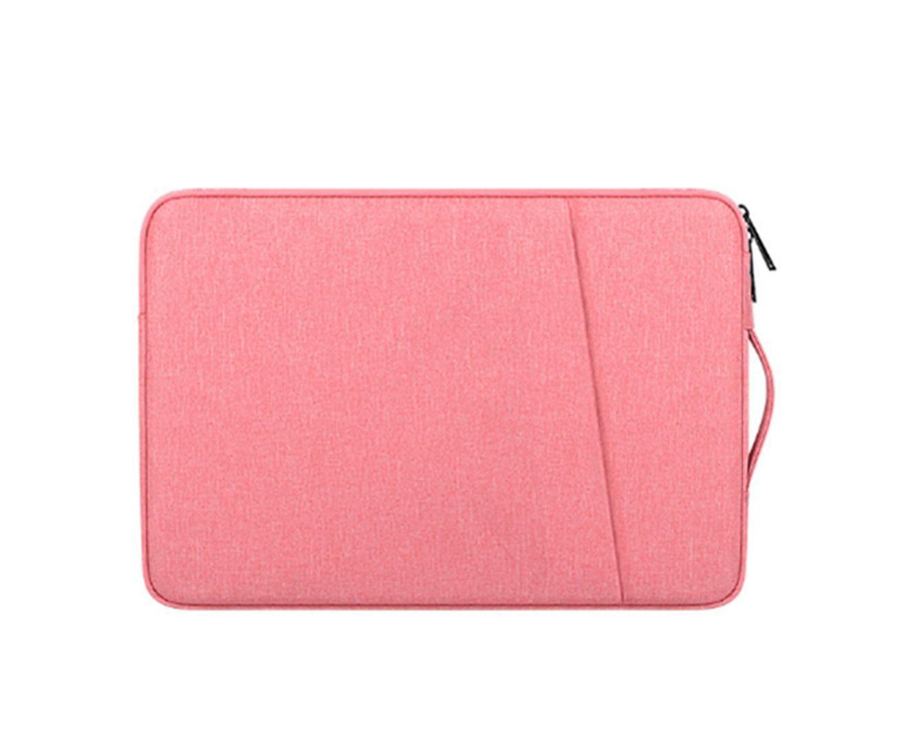 13.3 Inch Waterproof and Shockproof Laptop Bag Macbook Notebook Liner Bag Protective Cover-Pink