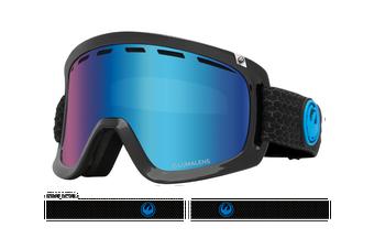 Dragon 2020 D1 OTG Split w/ Blue Ion LumaLens + Amber LumaLens