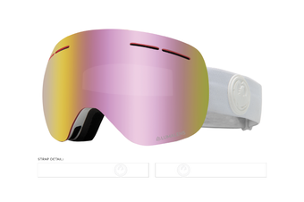 Dragon 2020 X1s Whiteout w/ Pink Ion Lumalens + Dark Smoke