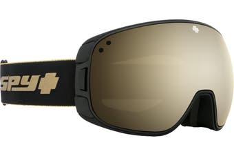 Spy BRAVO 2020 25th Anniv Black Gold w/ HD Plus Gold Spectra Mirror  + Bonus Lens