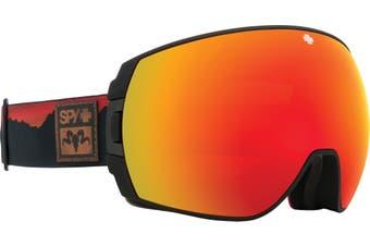 Spy 2020 LEGACY Black Wiley Miller w/ HD Plus Red Spectra + Bonus lens