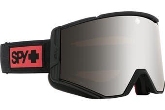 Spy ACE 2020 Night Rider Matte Black w/ HD Plus Silver Spectra Mirror + Bonus lens