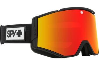 Spy ACE 2020 Matte Black w/ HD Plus Red Spectra Mirror + Bonus lens