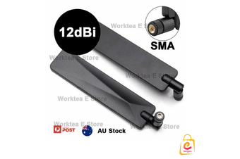 2 X 12dBi High Gain External Antenna For 4G LTE Router Huawei B315 B310 B525 SMA