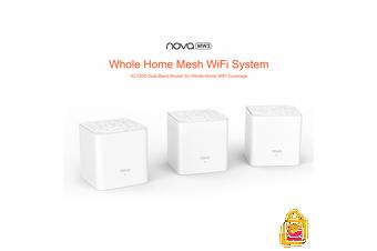 Tenda Nova MW3 AC1200 Home Mesh WiFi System Router Ethernet Extender ✔3 PACK