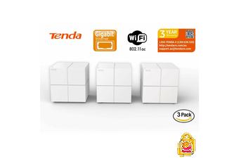 Tenda Nova 11AC MW6 Mesh Wi-Fi System Extender Booster Gigabit Router 3 Pack