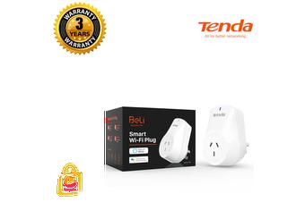 Tenda SP3 Beli Smart WiFi Plug APP Remote Control Power Switch Voice Control