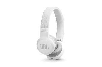 JBL LIVE400BT Wireless On-Ear Headphones - White