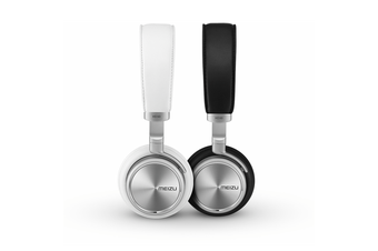 Meizu White Hi-Fi Overhead Headphones 3.5mm
