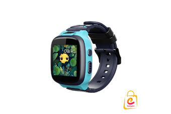 4G 360kids Smart Watch E2, Wifi IPX8 Waterproof, Dual Cameras, GPS tracking BLUE