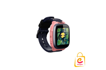 4G 360kids Smart Watch E2, Wifi IPX8 Waterproof, Dual Cameras, GPS tracking Pink
