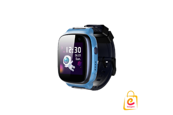 4G 360kids Smart Watch E1, Wifi IPX8 Waterproof, Cameras, GPS tracking BLUE