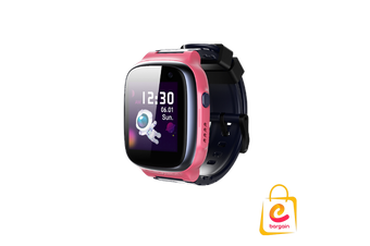 4G 360kids Smart Watch E1, Wifi IPX8 Waterproof, Cameras, GPS tracking PINK
