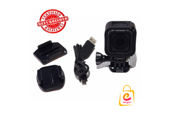 Refurbished GoPro Hero4 Session Camera with cradle & cable + FREE Postage