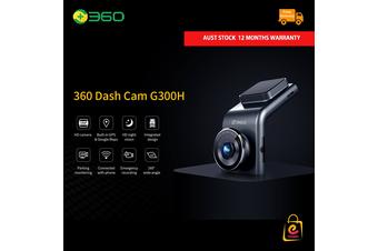 360 Dash Cam G300H, HD Video Cam Recorder, GPS, Night Vision+G-Sensor(AU STOCK)