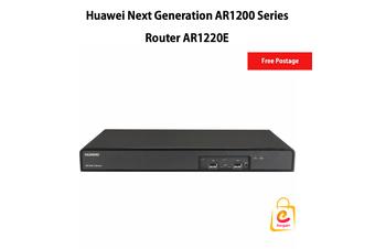 Huawei AR1220E Enterprise ADSL/VDSL Gigabit Modem Router, 8 x GE LAN, 2 x GE Combo, 2 x SIC, VPN