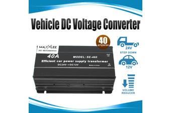 Elinz Vehicle DC Voltage Converter Step down 24V to 12V 40A Car Inverter