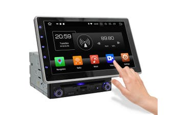 """Elinz 10.1"""" In Dash Car DVD Player Universal Android 8 Double 2 DIN Stereo GPS WiFi BT Head Unit"""