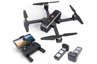 Elinz MJX Bugs 4W Foldable Drone 4K Camera GPS 5Ghz WiFi Quadcopter Brushless Motor B4W 3x Batteries