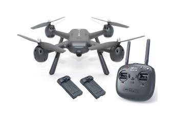 MJX X104G RC Drone 1080P Camera Quadcopter GPS 5GHz Wifi FPV Headless Altitude Hold 2x BATTERIES Elinz