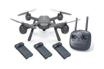 MJX X104G RC Drone 1080P Camera Quadcopter GPS 5G Wifi FPV Headless Altitude Hold 3x BATTERIES Elinz