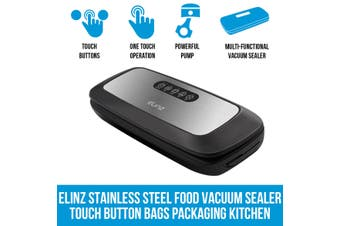 Elinz Stainless Steel Food Vacuum Sealer Bags Packaging Saver Kitchen Storage Machine