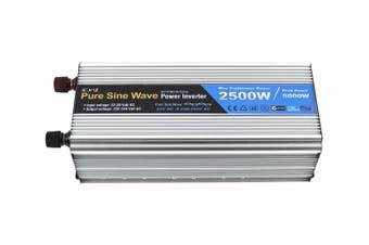 Elinz Pure Sine Wave Power Inverter 2500w/5000w 24v - 240v AUS plug Truck Car Caravan
