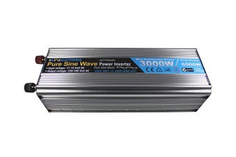 Elinz Pure Sine Wave Power Inverter 3000w/6000w 24v - 240v AUS plug Truck Car Caravan