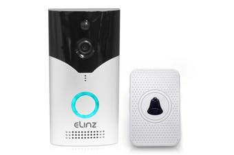 Elinz Wireless WiFi Doorbell Intercom Security Camera HD 1080P Alexa Echo Google Home Two-Way Talk