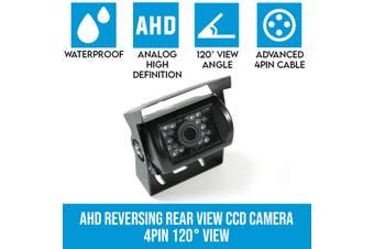 Elinz AHD Reversing Rear View CCD Camera 4PIN Night Vision Car Truck Caravan 120° View