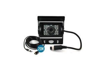 Elinz AHD Reversing Rear View CCD Camera 4PIN Night Vision Car Truck Caravan 120° View 20M