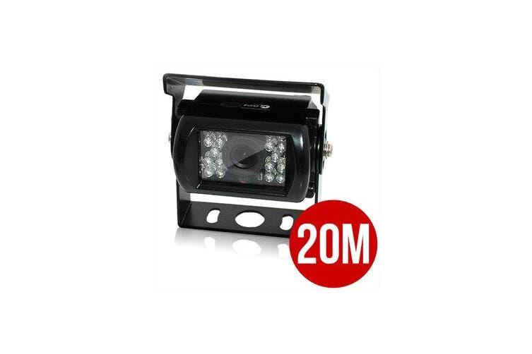 Elinz 4PIN 20M Heavy Duty 12/ 24V CCD IR Colour Reverse Reversing Camera Rearview 90 angle