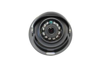 Elinz 4 PIN Heavy Duty CCD IR Colour Reversing Camera Night Vision 12V 24V Black