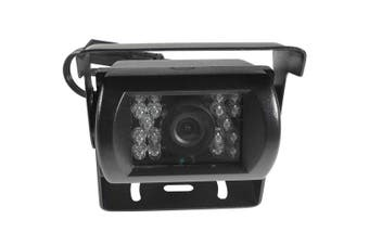 Elinz Heavy Duty CCD IR 12V/24V Colour reversing camera BLACK