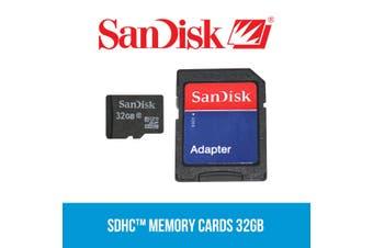 Sandisk SDHC Class 10 32GB Memory SD Card Elinz