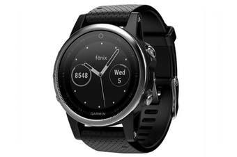 Garmin Fenix 5S Multisport GPS Watch 42mm Case Black Band