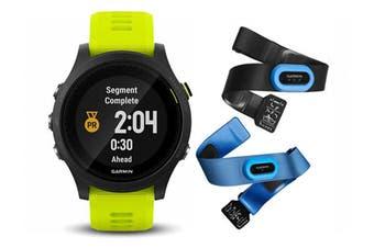 Garmin Forerunner 935 Sports Watch Bundle Black/Yellow