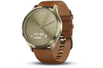 Garmin Vivomove HR Premium Smartwatch Gold Tone Small/Medium
